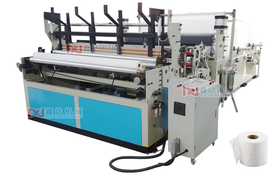 Automatic Toilet Paper Rewinding Machinery_Quanzhou XinDa Machinery
